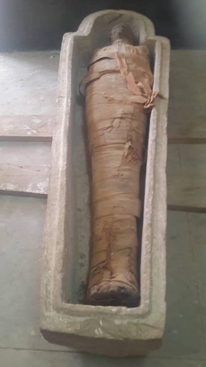 aswan sarcophagus