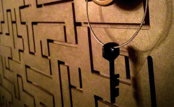 Lock Your Love Up at Escape Room