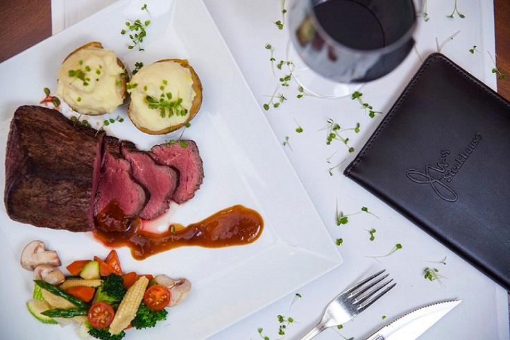 Dinner at JW's Steakhouse