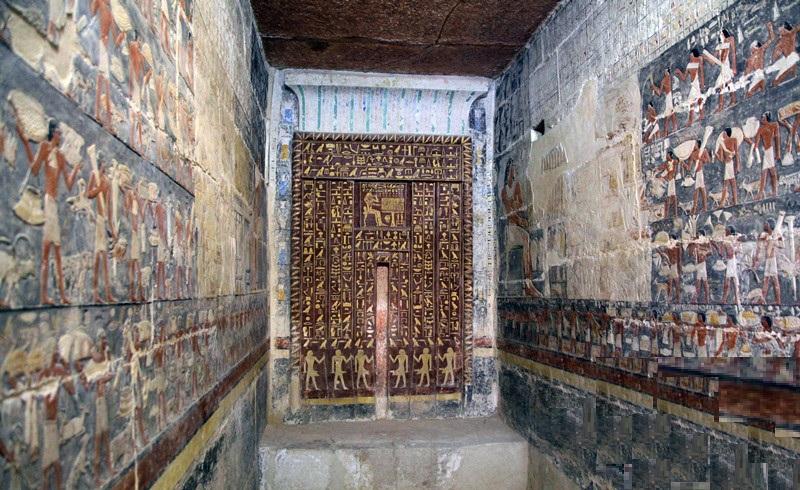 ancient egypt 6th dynasty old kingdom tomb
