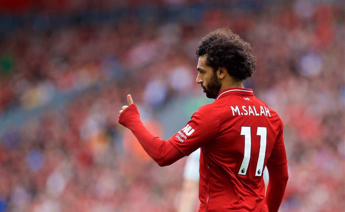 Mohamed Salah Liverpool Football Club Player