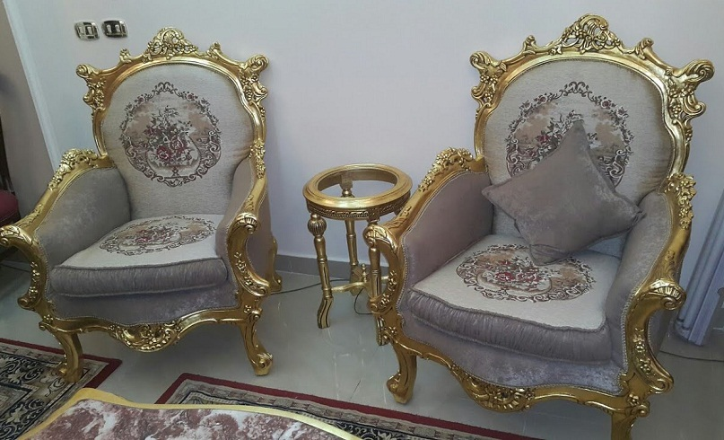 gold chairs korsy modhab