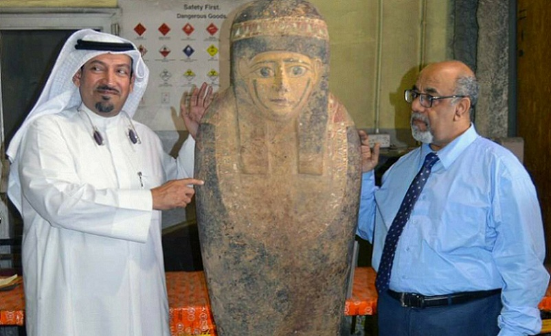 ancient egyptian sarcophagus in kuwait