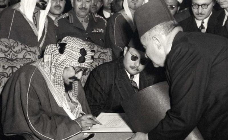 king abdul aziz egypt