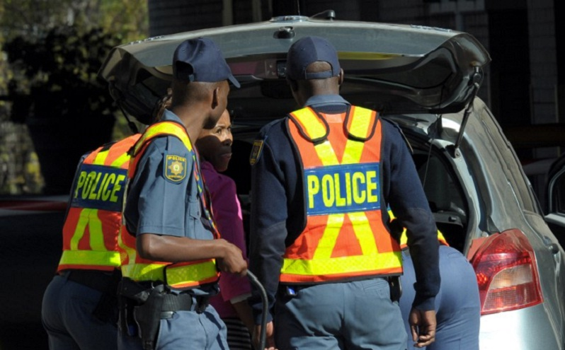 south Africa police arrest