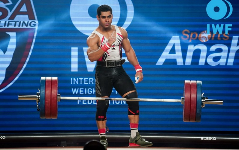 egypt weightlifting champion