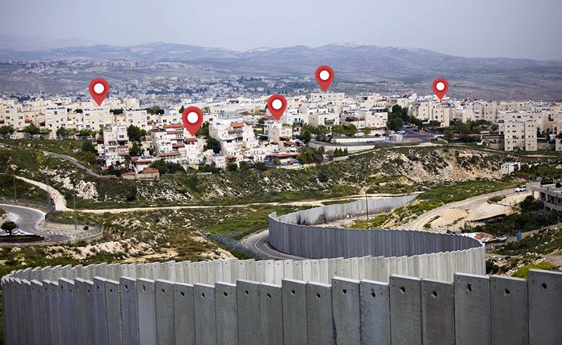 Airbnb listings in Palestine Israel