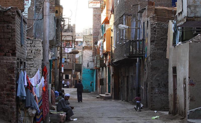 Slum in Egypt