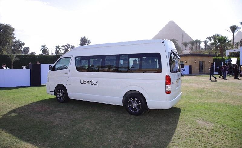 Uber Bus in Egypt