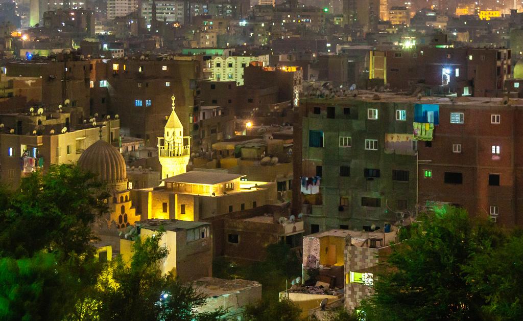 Cairo Night Lights