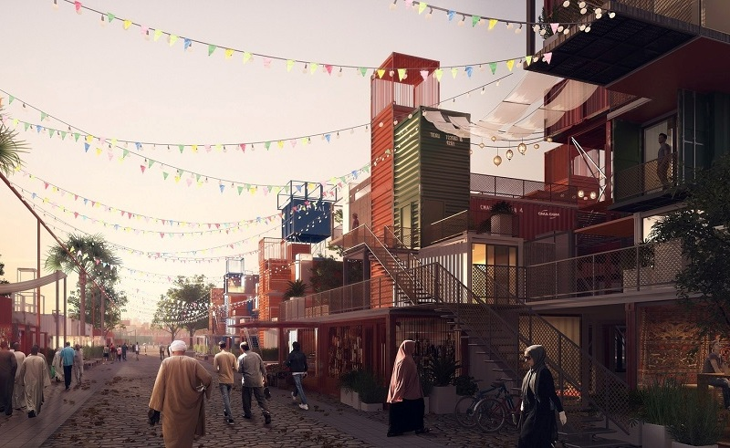 Cairo Shipping Container Housing