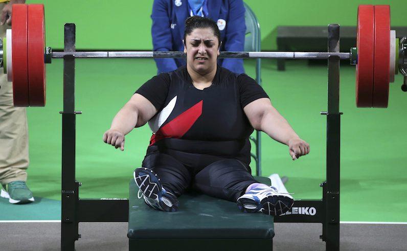 Randa Mahmoud Paralympian