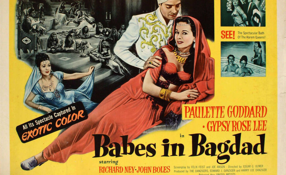 Babes in Baghdad Movie Poster