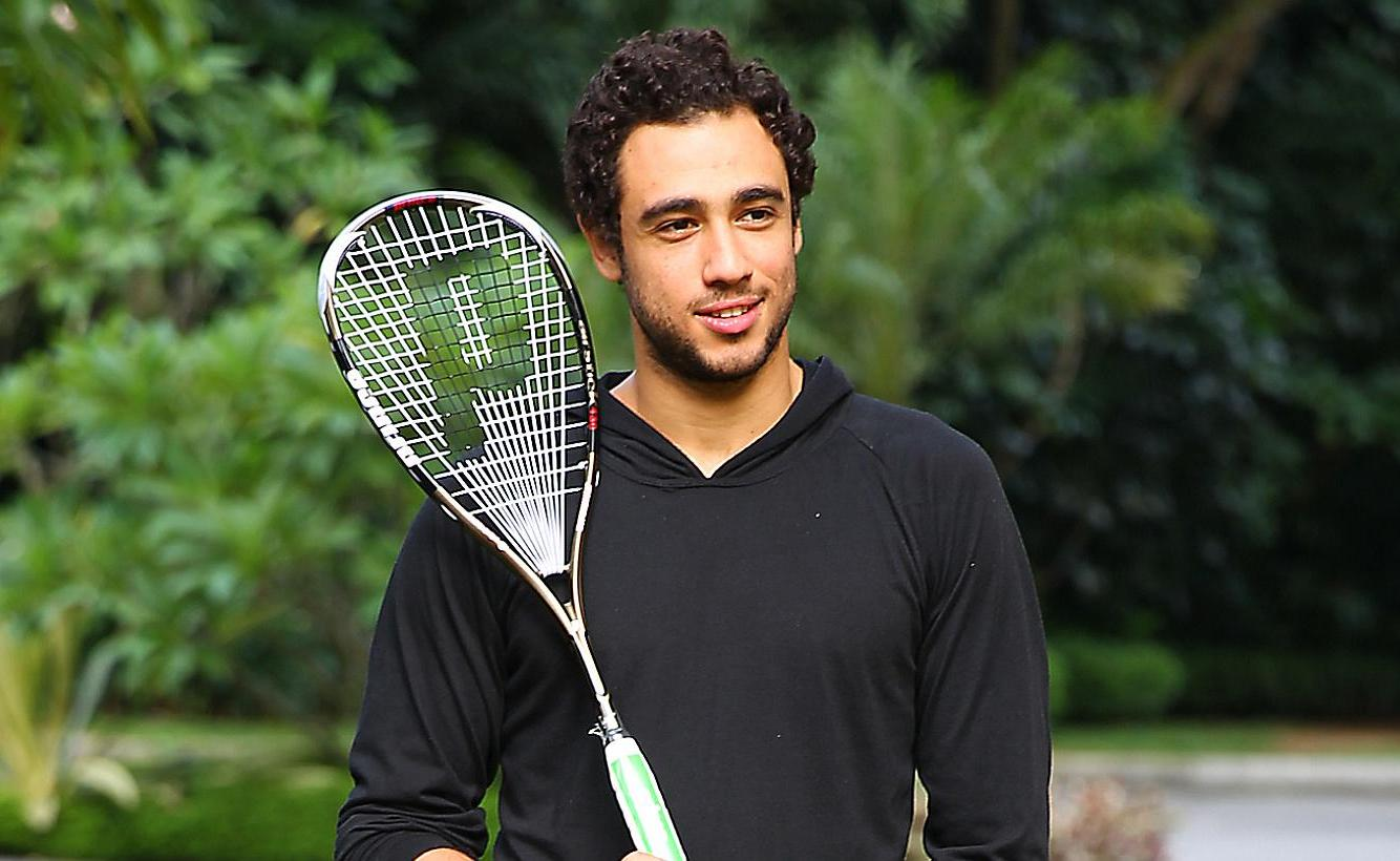 Egyptian Squash Player Ramy Ashour