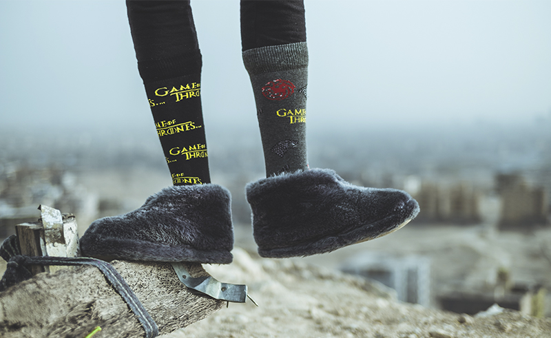 Egyptian Sock Brand brings us a flavor of Game of Thrones back home