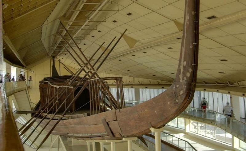 Khufu ship ancient egypt