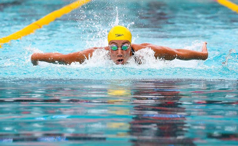 Egypt's Farida Osman Scores Silver in FINA Champions Swim Series