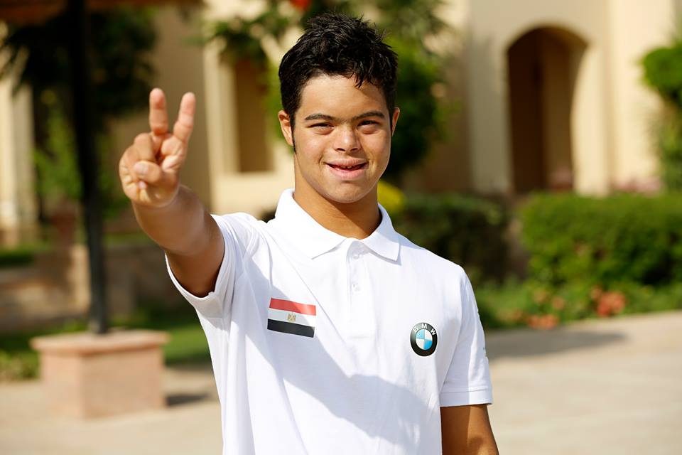 Mohamed Al Husseini is the first rep for the Mental Disability Association part of the UN