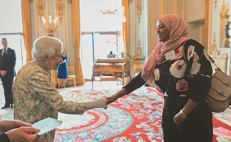 Egyptian Woman Honoured by Queen Elizabeth II for Community Work in UK