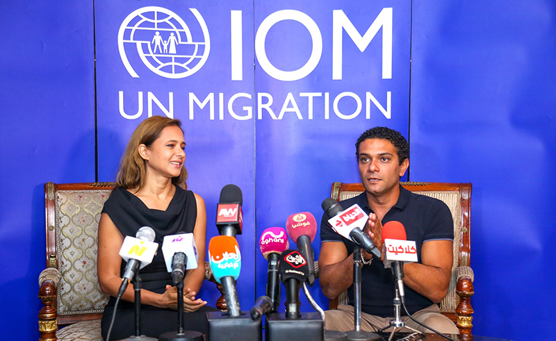 Egyptian Stars Nelly Karim and Asser Yassin Appointed as UN Goodwill Ambassadors