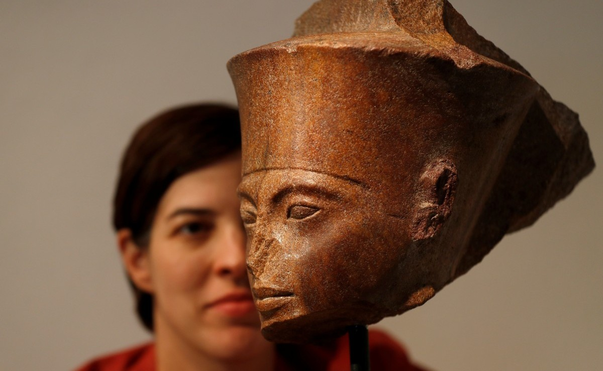 Egypt Sues Christie's Auction House Over Sale of King Tut Bust