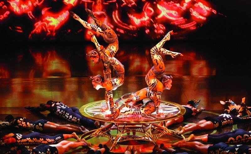 Cirque Du Soleil in Egypt