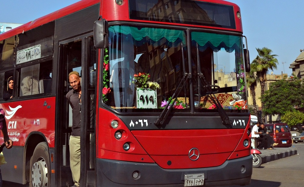 GPS Systems to Be Installed in Egypt's Public Buses