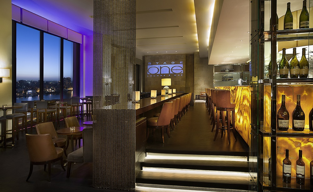 Conrad Cairo's Stage One Named One of the Best Bars in Cairo by Global Travel Platform Big 7 Travel