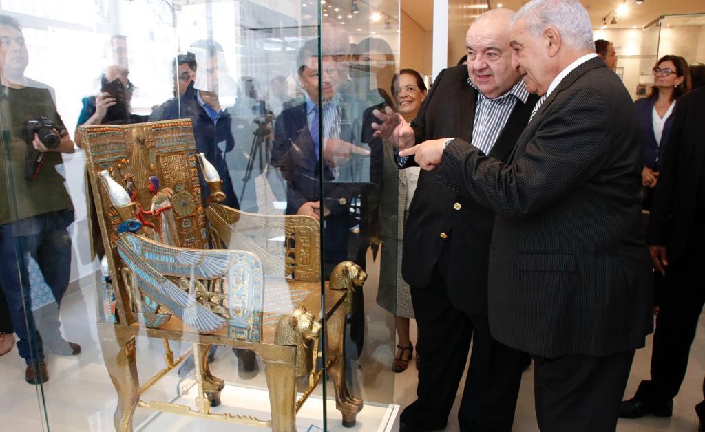 Museum of Archaeological Models of King Tutankhamun  Opens in Brazil