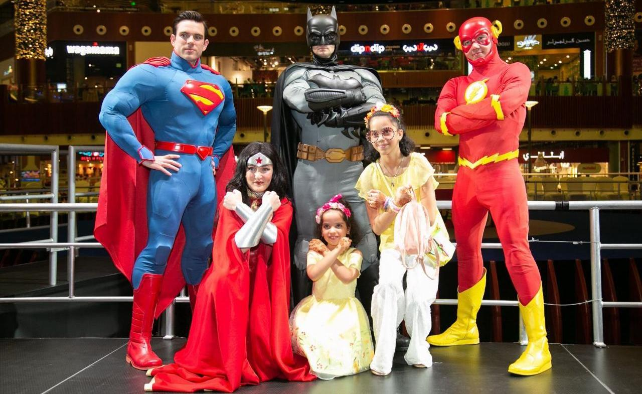 Justice League in Egypt: Superman, Batman, Wonder Woman and The Flash are Taking Over CFCM