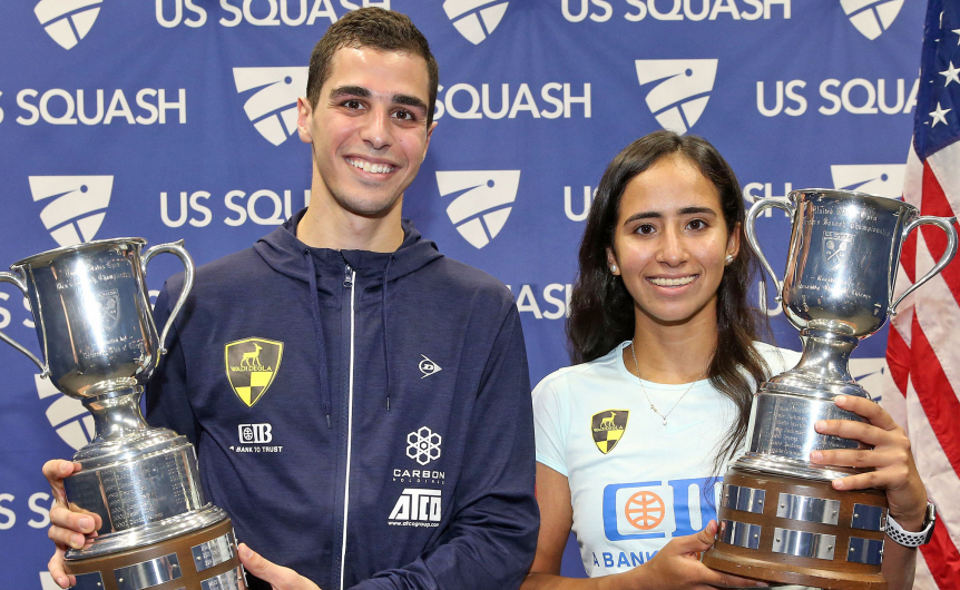 Egyptian Players Dominate at 2019 US Squash Open Finals