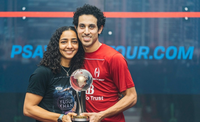 Tarek Momen, Raneem El Welily, PSA World Championship