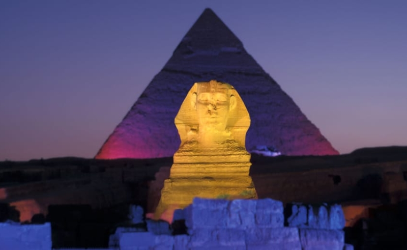 Light and Sound Show, Sphinx