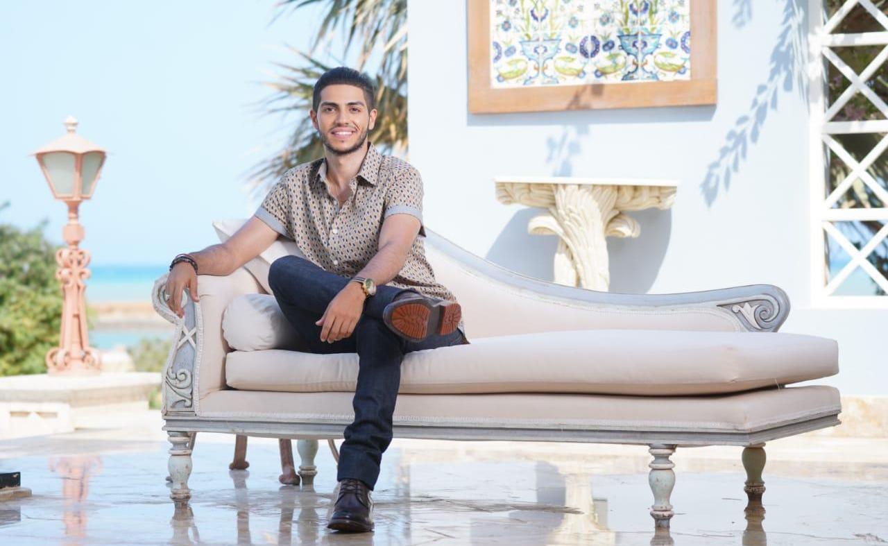 Mena Massoud at GFF 19.