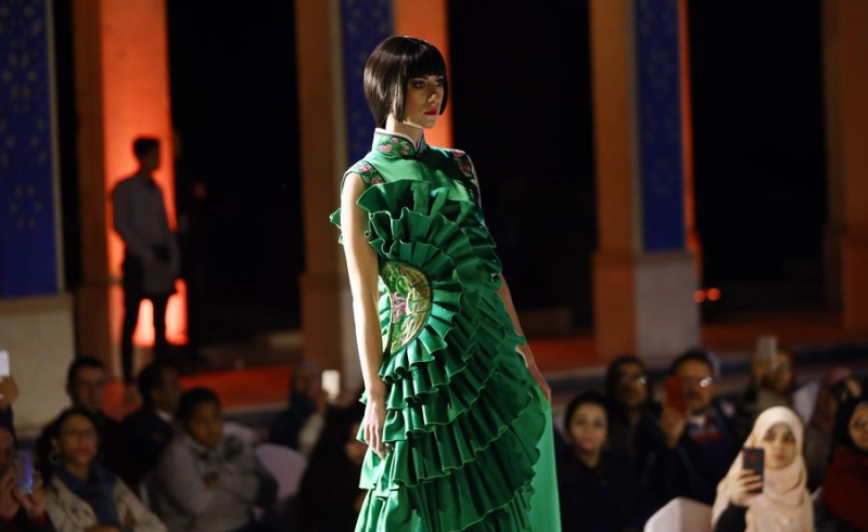 Chinese fashion show cairo