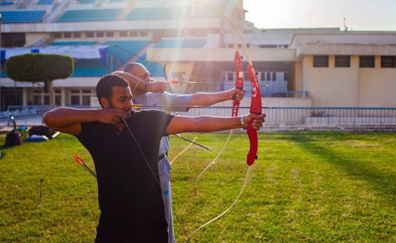 golden arrow egyptian archery