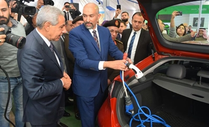 Egypt's 1st Electric Car Charge Station Just Opened