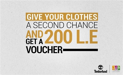 Timberland Are Giving 200 EGP Vouchers For Old Clothes and Donating Them to Syrian Refugees