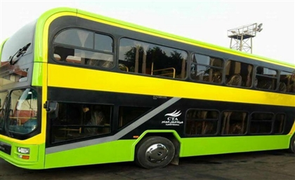 New Double-Decker Buses Hit Cairo Streets