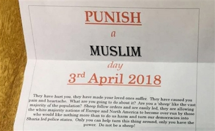 All You Need to Know About the Upcoming 'Punish a Muslim Day' This April 3rd
