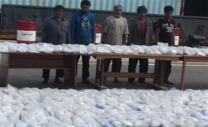 Egyptian Navy Confiscates EGP 10 Billion Shipment of Heroin
