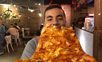 Here's Where You'll Find the Biggest Pizza Slice in Egypt