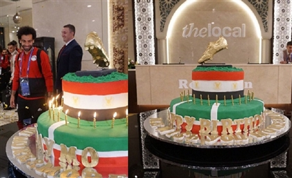 Mohamed Salah Celebrates Birthday With a 100 KG Gold Cake from Chechnya