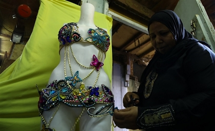 Rags for Riches: Meet Sayeda Eisha's Veteran Belly Dance Dress Designers
