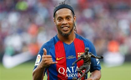 """Brazilian Football Legend Ronaldinho: """"Everything Started in Egypt for Me"""""""