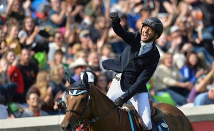 Egypt's Sameh El Dahan Victorious at the Prestigious CP International Grand Prix