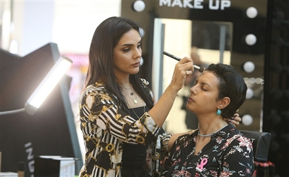 Inglot Egypt Stands Against Breast Cancer with its Makeup Workshop at Mall of Egypt