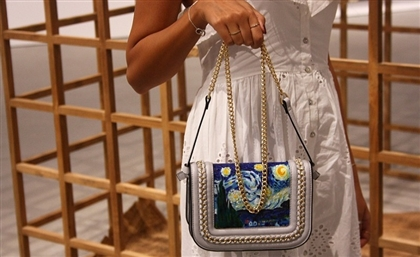 Egyptian Concept Design Store Creates Hand-Painted Bags Inspired by Famous Art