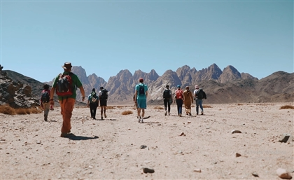 #SceneExclusive: On the Road with Egypt's First Mainland Hiking Route Through the Red Sea Mountains