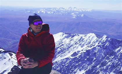 This is the Second Egyptian to Ever Climb Mount Everest